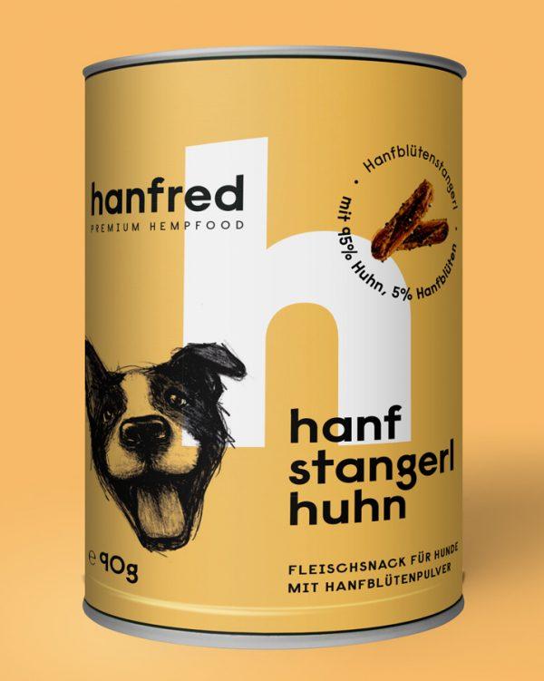 Hanf Stangerl Huhn 90g 1