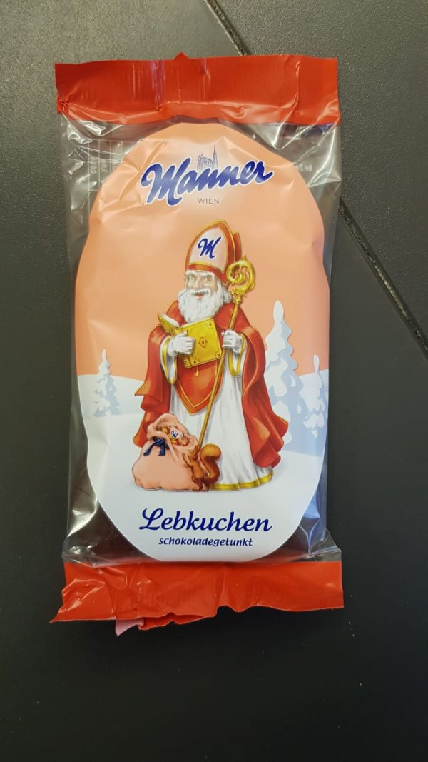 Manner Lebkuchen Nikolo 1
