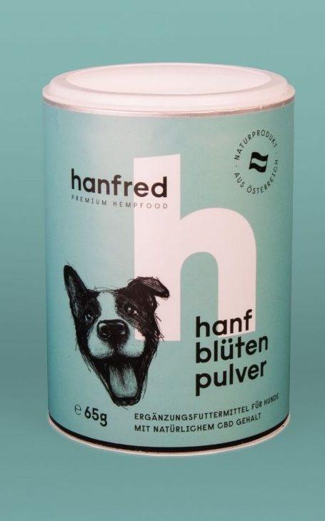 Hanfblütenpulver für Hunde 65g 1