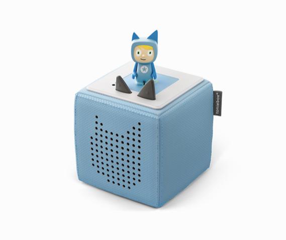 Toni Box in hellblau und grau 1