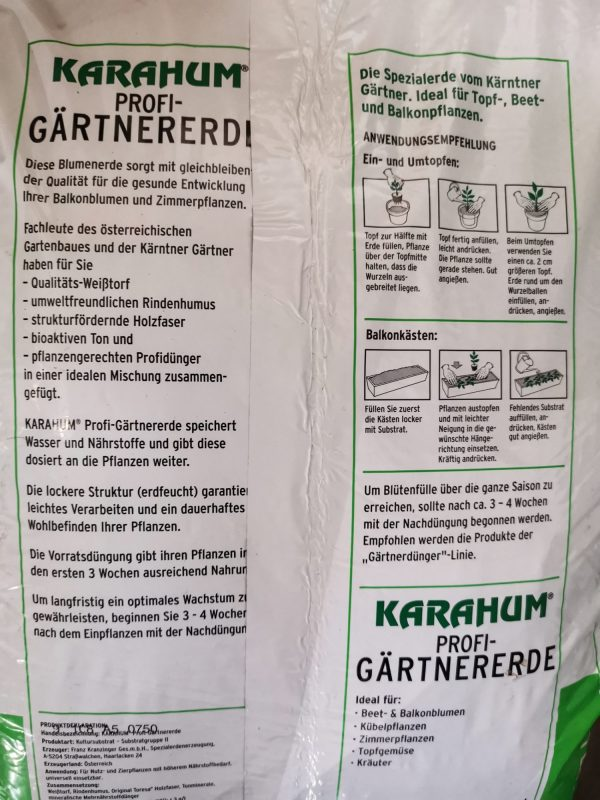 Karahum Gärtner Profierde 2