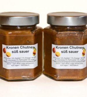 Kronen-Chutney süß sauer