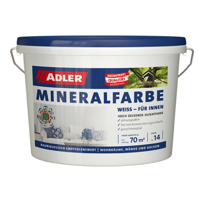 Mineralfarbe Weiß 1