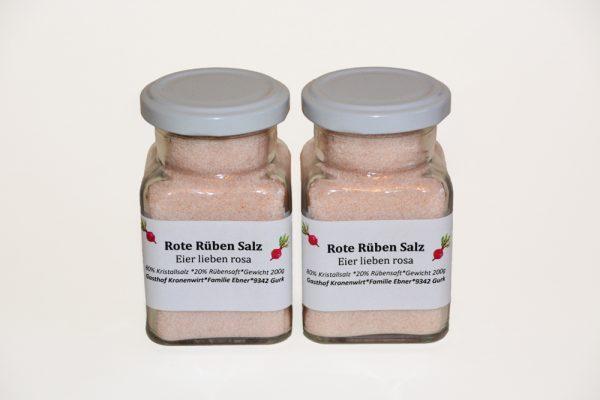Rote Rüben Salz 1