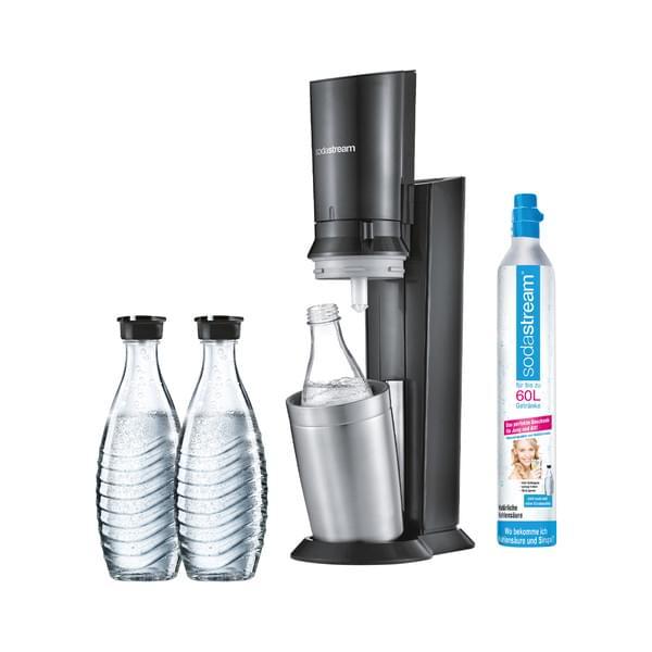 Soda Stream Crystal 2.0 mit 3 Karaffen 1