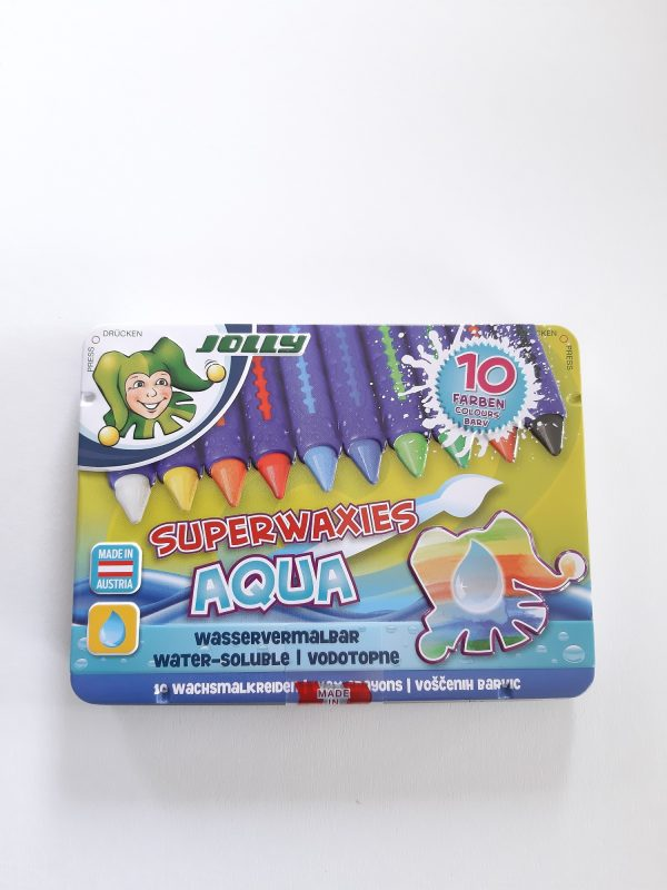 Jolly Wachsmalstifte Aqua 1