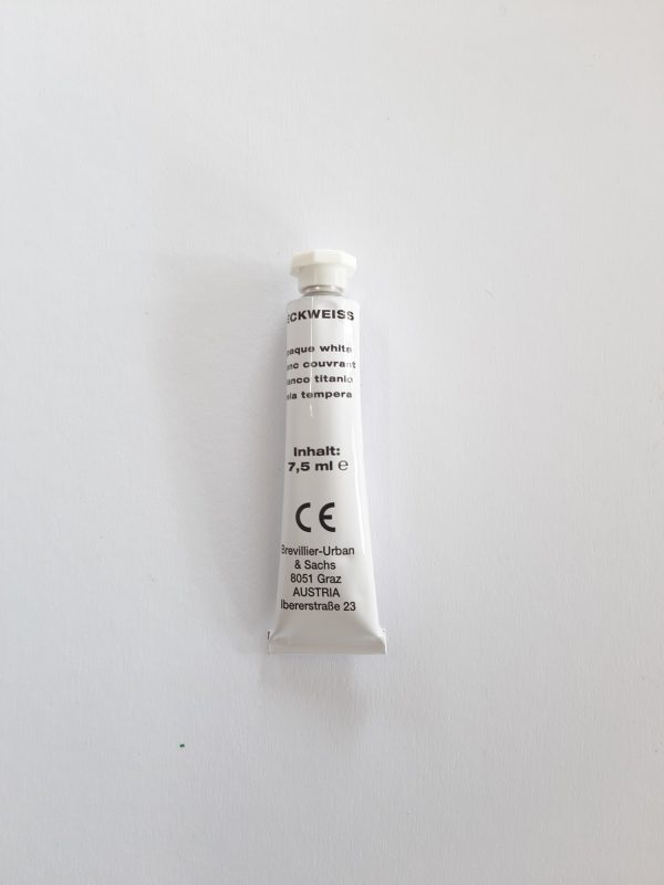 Deckweiss 7,5ml. 1