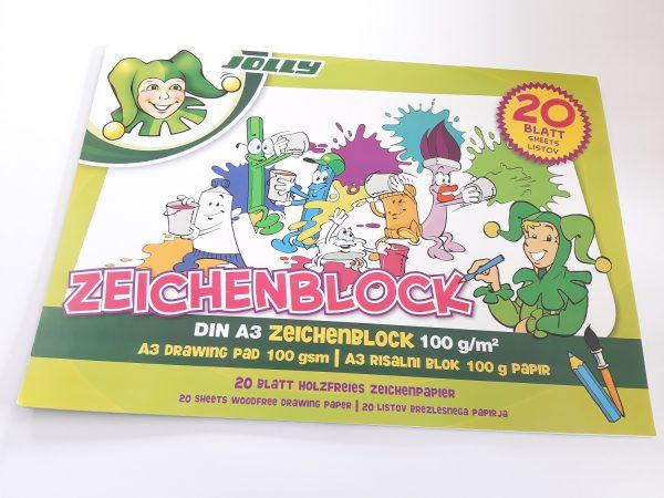 Jolly Zeichenblock A3 1