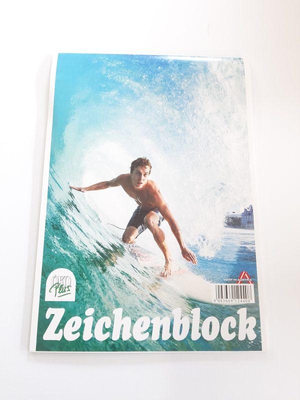 """Zeichenblock A4 """"Surfer"""" 1"""