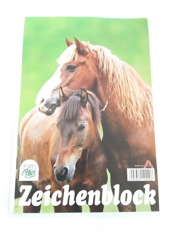 "Zeichenblock A4 ""Pferde"" 1"