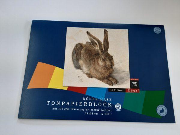 Naturpapierblock A4 1