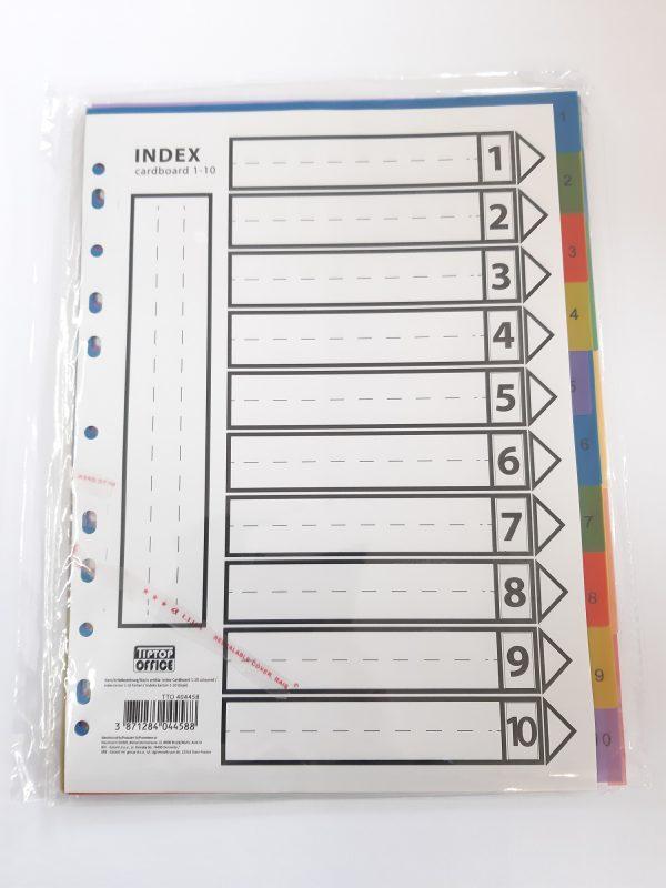 Register plastik 10er 1