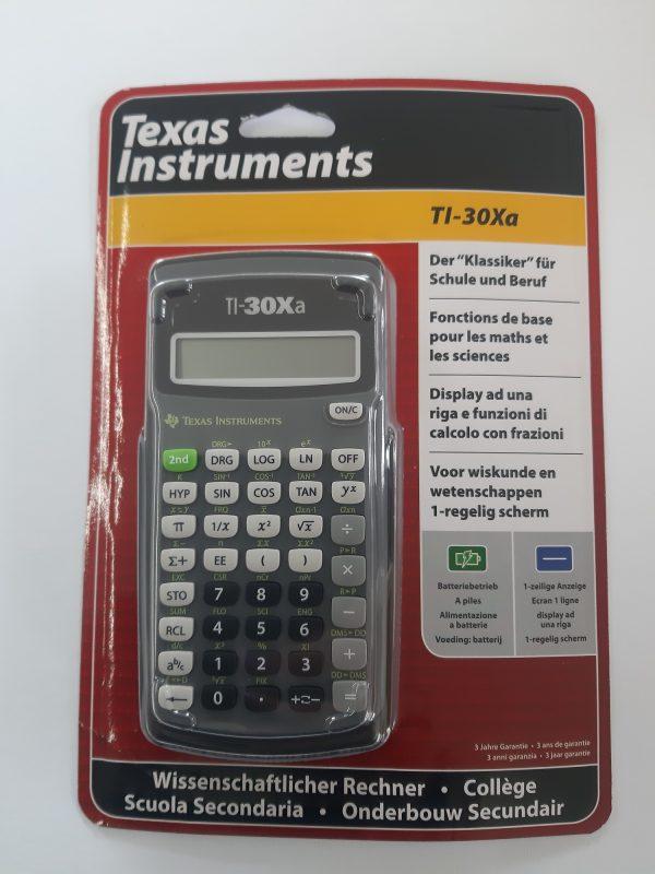 Taschenrechner TI-30Xa 1