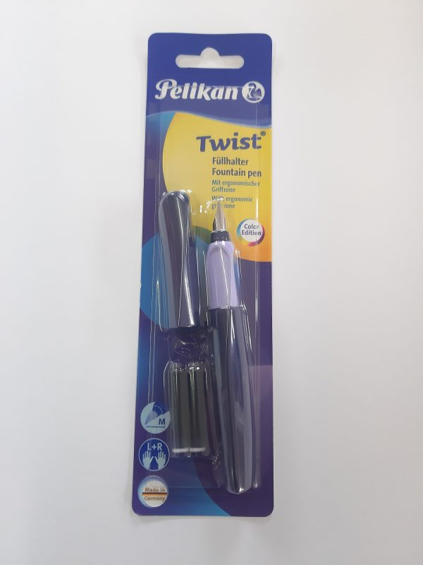 """Pelikan Twist Füllfeder """"violett"""" 1"""