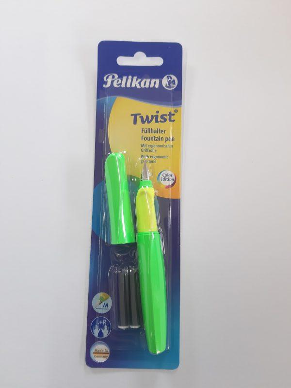 "Pelikan Twist Füllfeder ""grün"" 1"