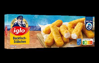 Iglo Backfisch-Stäbchen 1