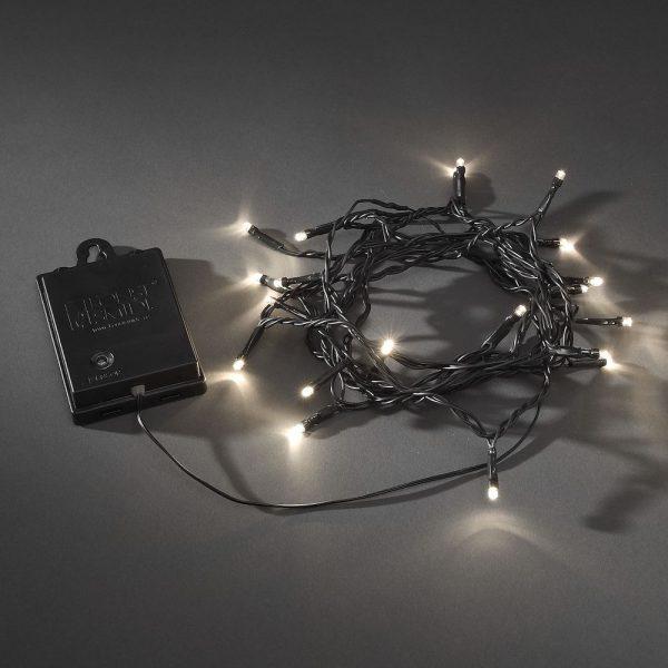 Konstsmide Batteriebetriebene Lichterkette mit LED 1