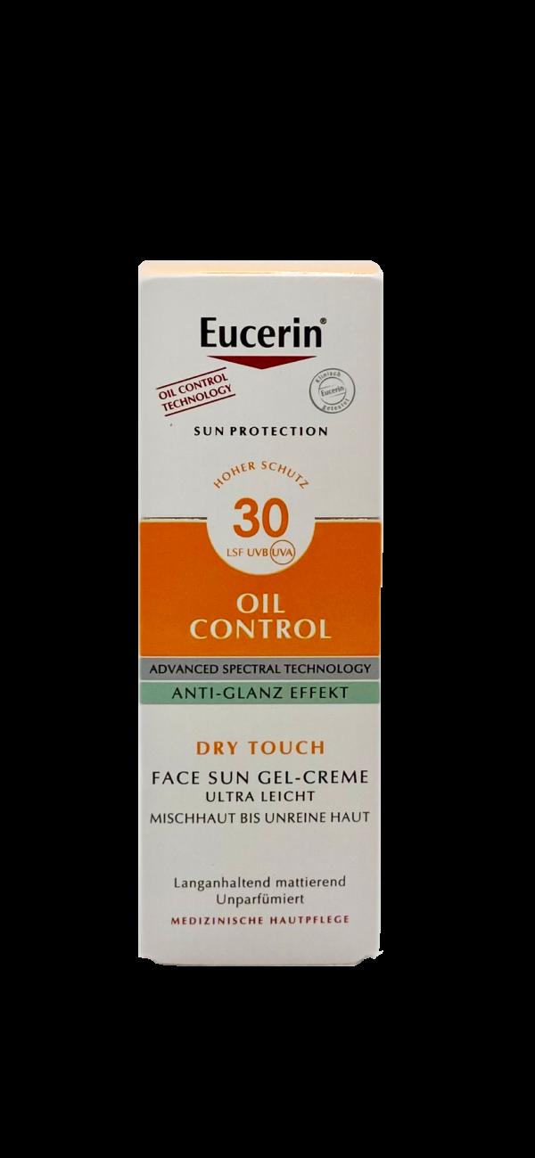 Eucerin Oil Control Face Sun Gel-Creme LSF 30 1