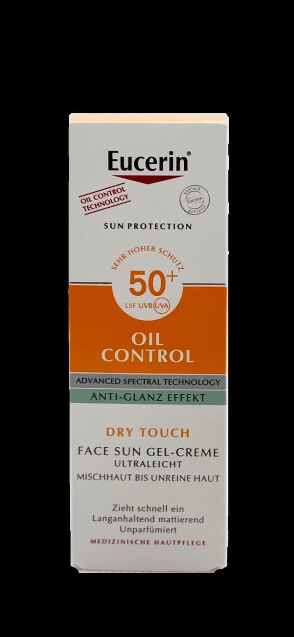 Eucerin Oil Control Face Sun Gel-Creme LSF 50+ 1