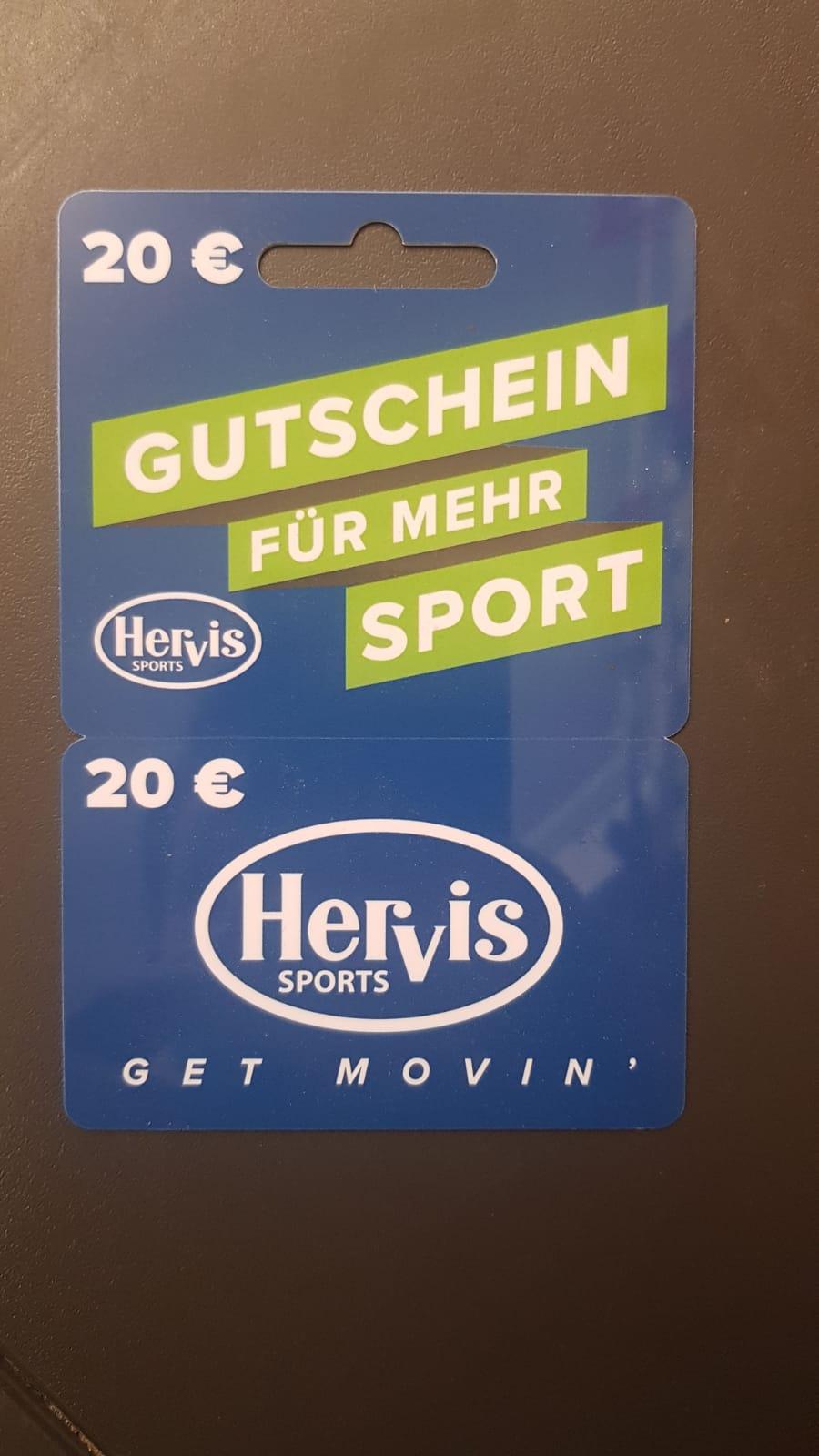 Hervis Gutschein