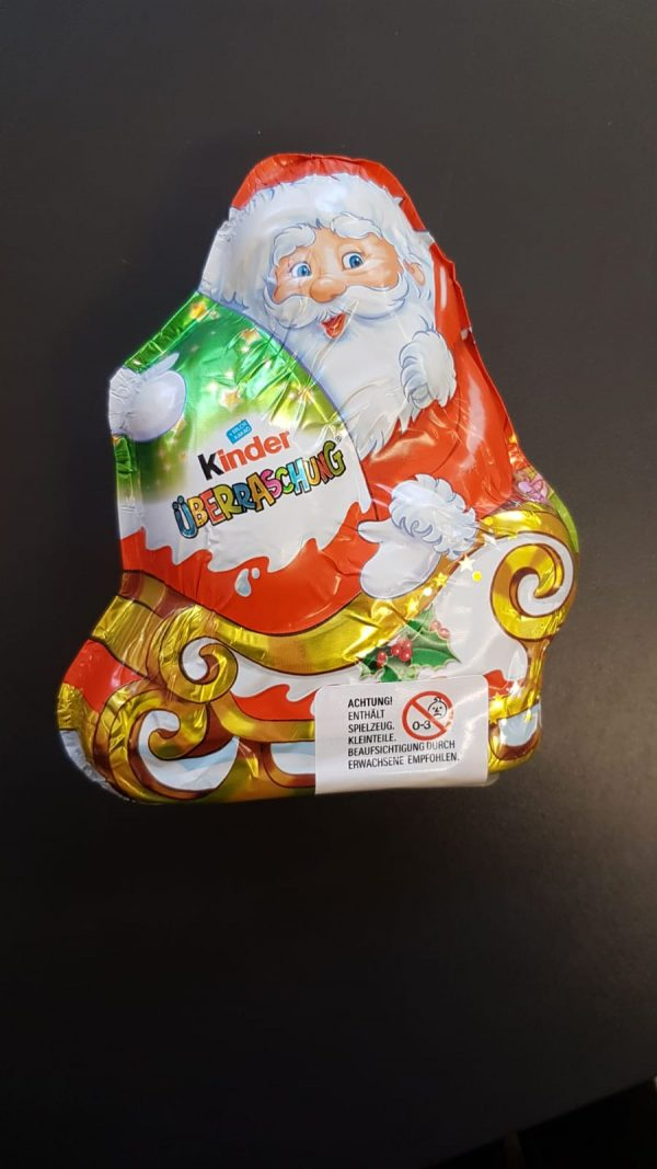 Ferrero Kinder Weihnachtsmann 1