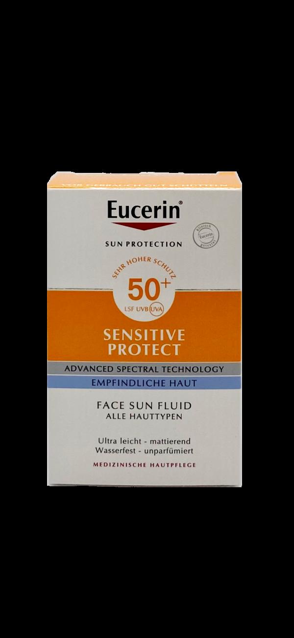 Eucerin Sensitive Protect Face Sun Fluid LSF 50+ 1