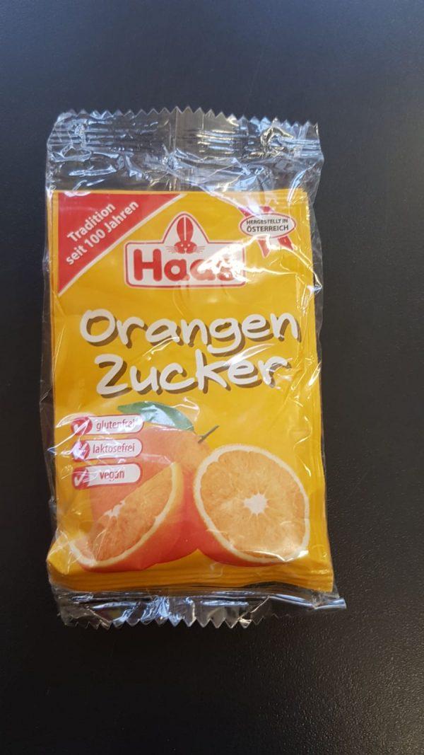 Haas Orangenzucker 3x8g 1