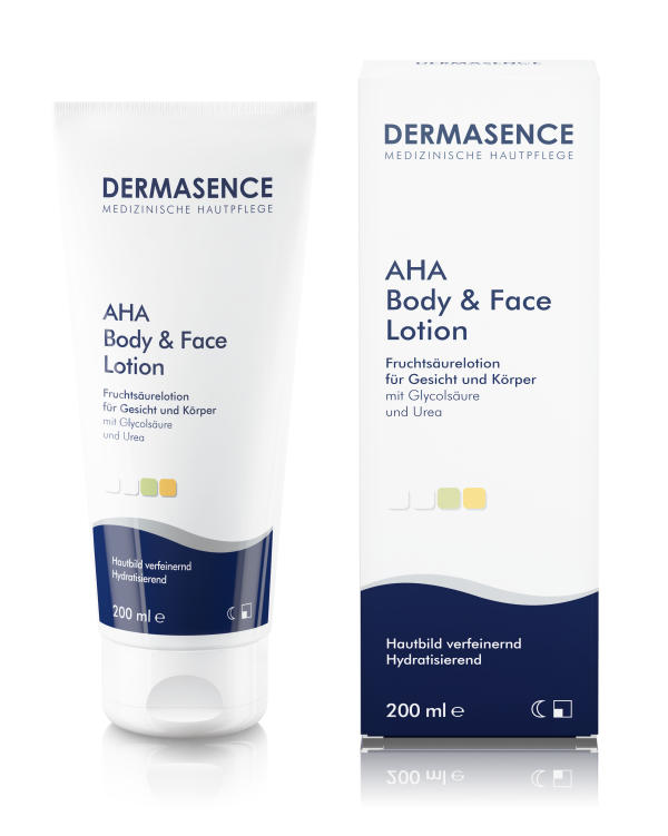 Dermasence AHA Body + Face Lotion 1