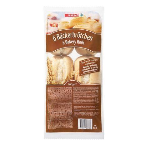 6 Bäckerbrötchen 1