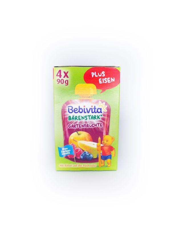 Bebivita Bärenstark Gartenfrüchte 1