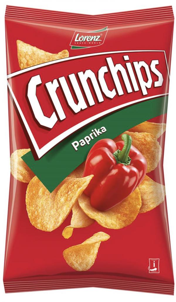 Lorenz Crunchips Paprika 1
