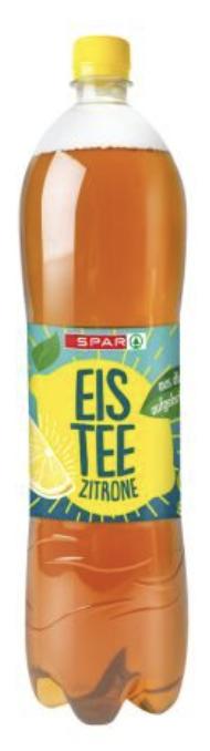 SPAR Eistee Zitrone