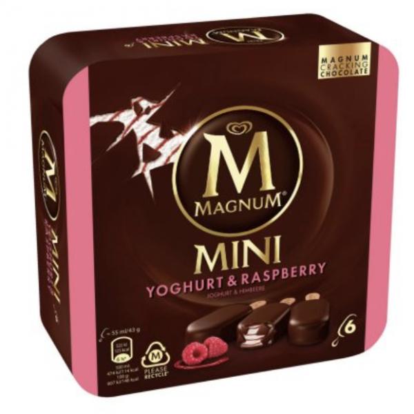 Eskimo Magnum Yoghurt & Raspberry 6 Stück