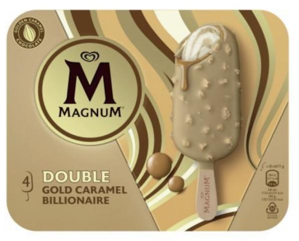 Eskimo Magnum Double Gold Caramel Billionaire