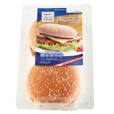 SPAR Cheesburger 250g 1