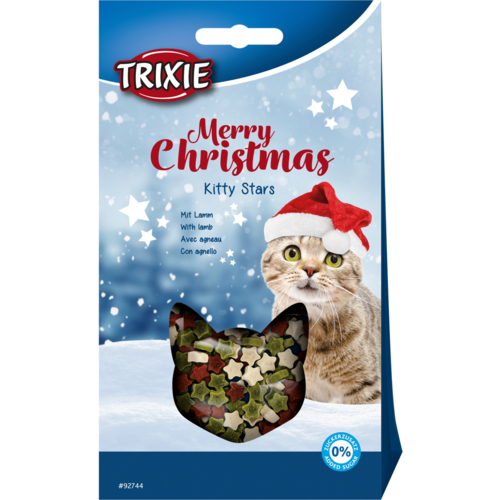 Christmas Kitty Stars 1