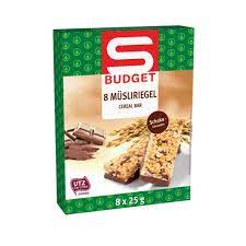S-Budget Müsliriegel Schokolade 1