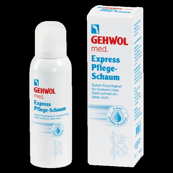 Gehwol med. Express Pflege-Schaum 1