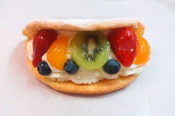 Früchteomelette 1