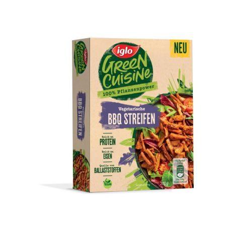 Green Cuisine veg. BBQ Streifen 1
