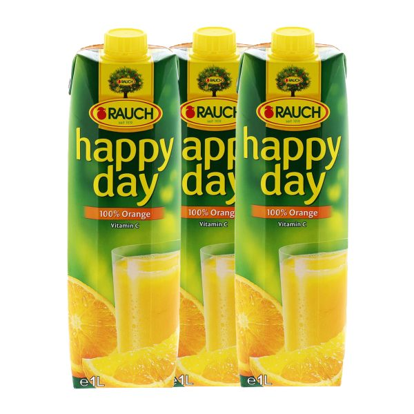 Happy Day Orangensaft 12x 1L 1