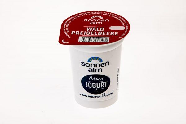 Sonnenalm Preiselbeer Joghurt 1