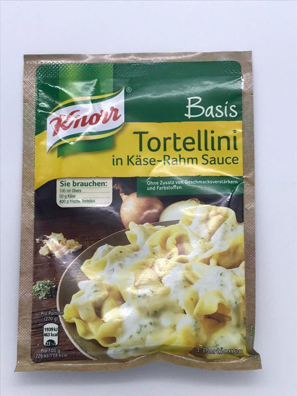 Knorr Basis Tortellini in Käse-Rahm-Sauce 1