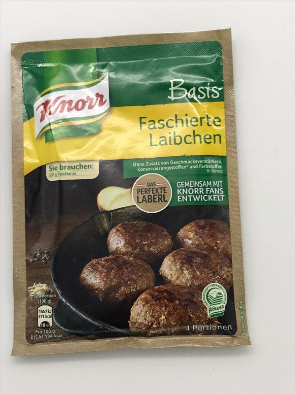 Knorr Basis Faschierte Laibchen 1