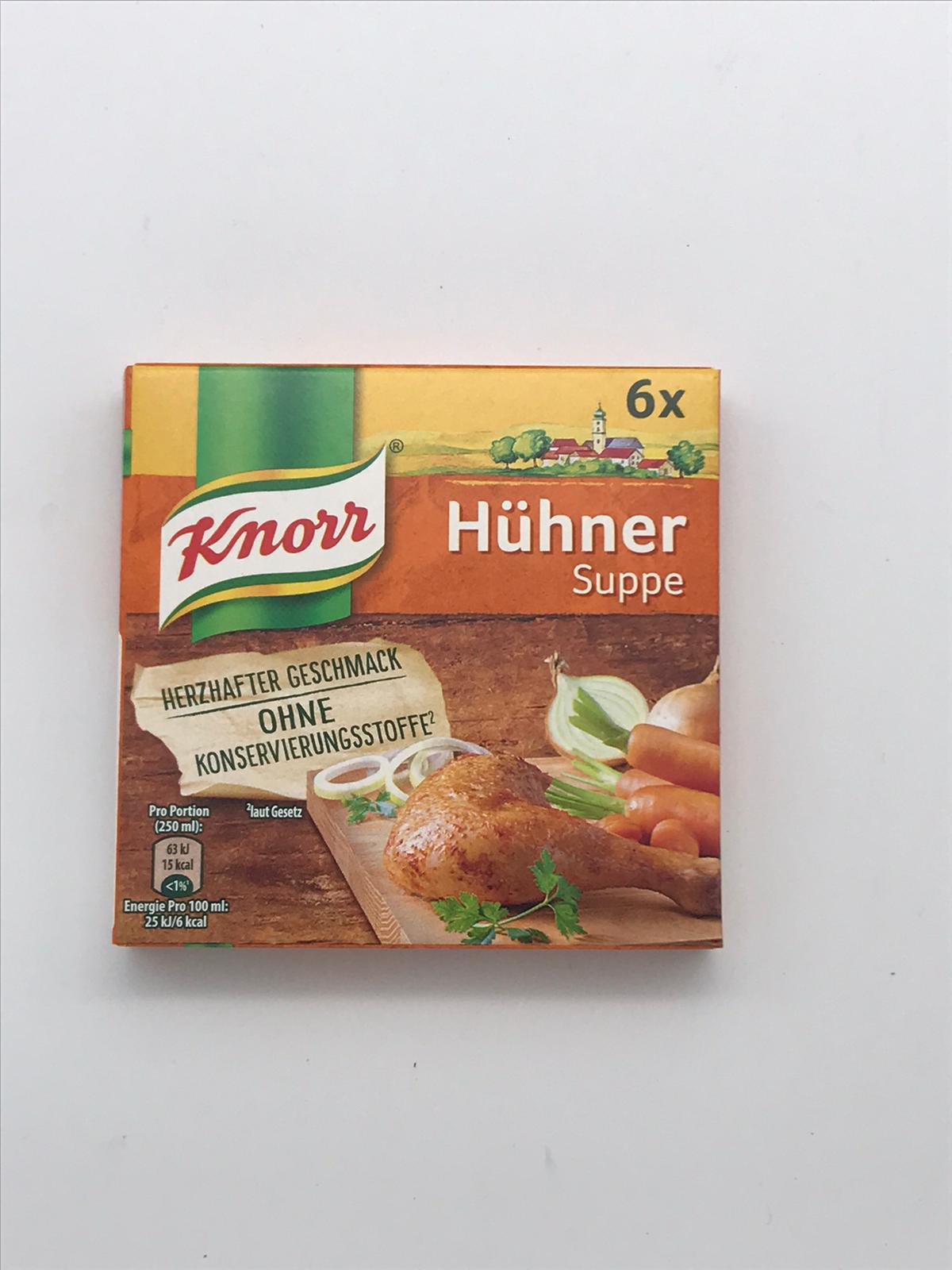 Knorr HГјhnersuppe