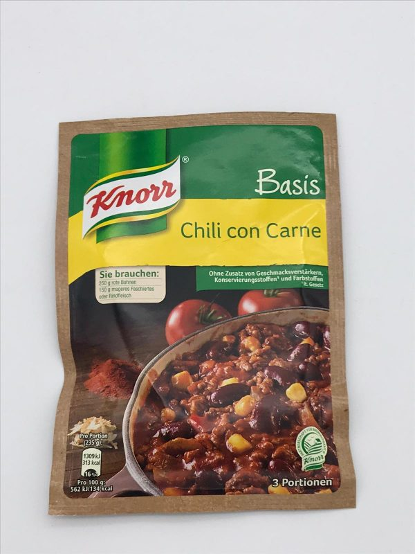 Knorr Basis Chili con Carne 1