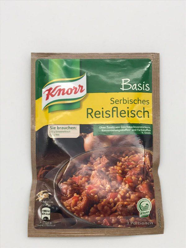 Knorr Basis Serbisches Reisfleisch 1