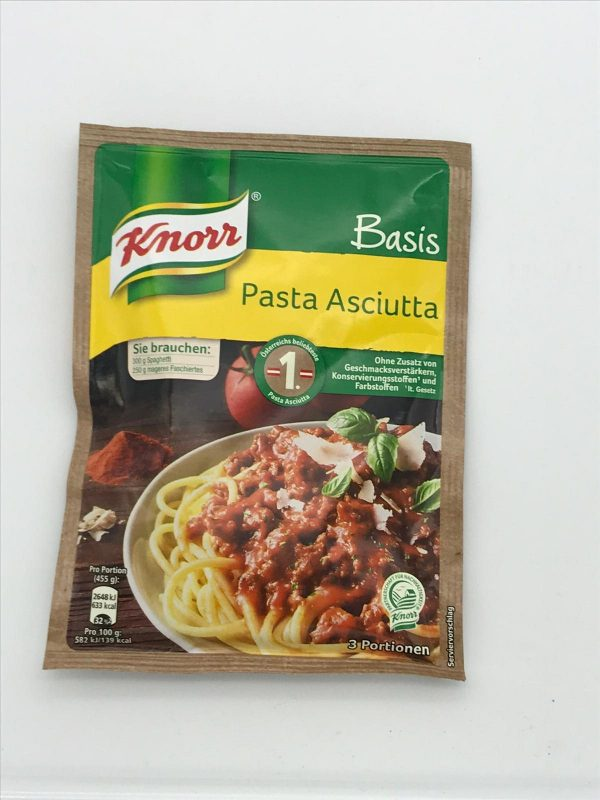 Knorr Basis Pasta Asciutta 1