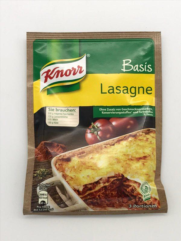 Knorr Basis Lasagne 1