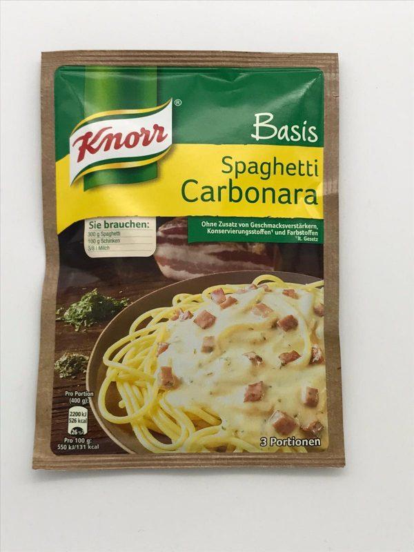 Knorr Basis Spaghetti Carbonara 1
